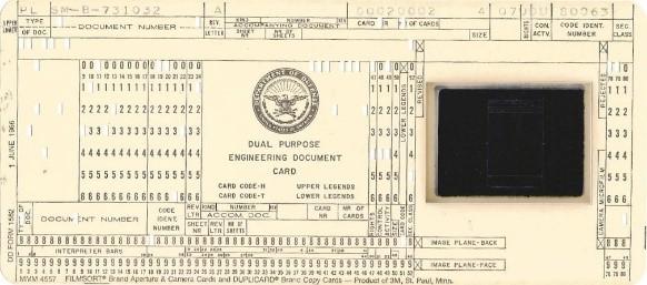 Figure 1 - Aperture Card