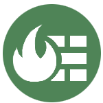 disaster recovery service icon