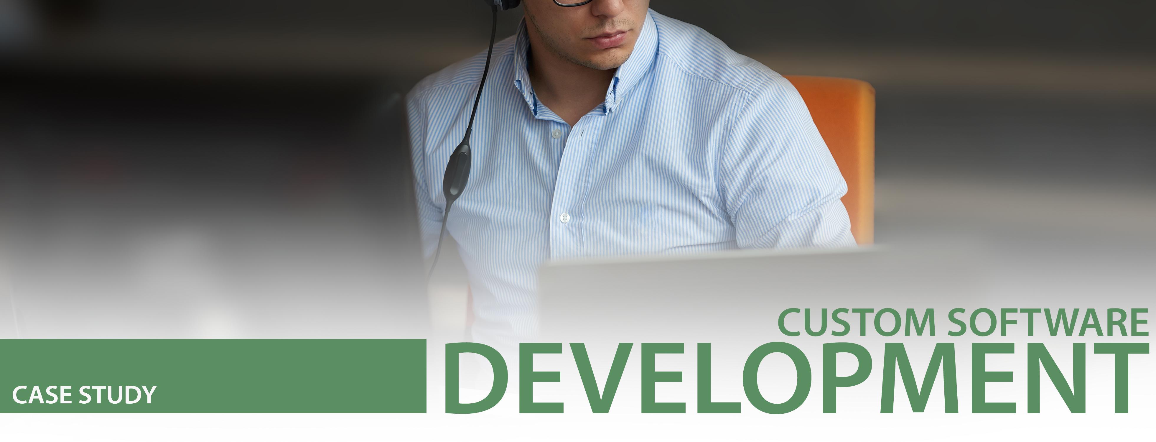 custom software development case study header