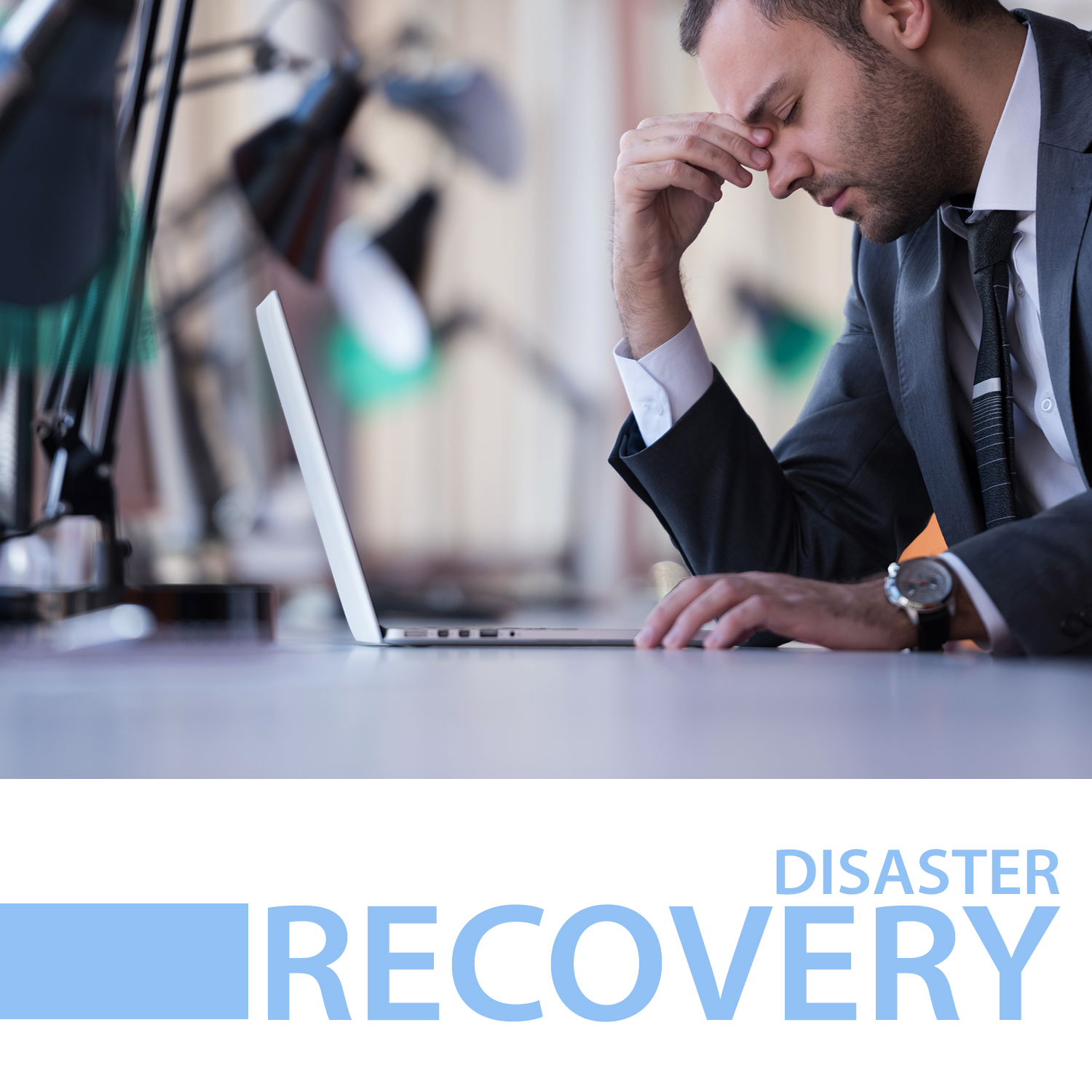 disaster recovery case study icon