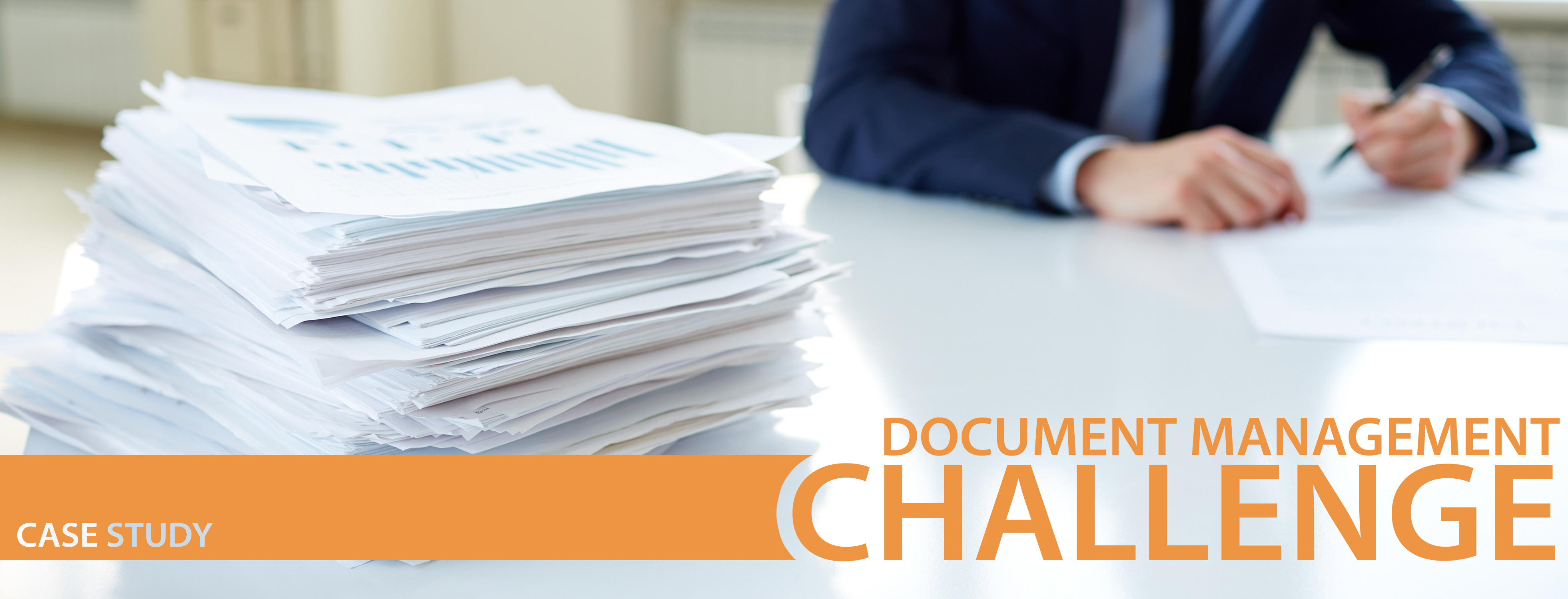 document management challenge case study header