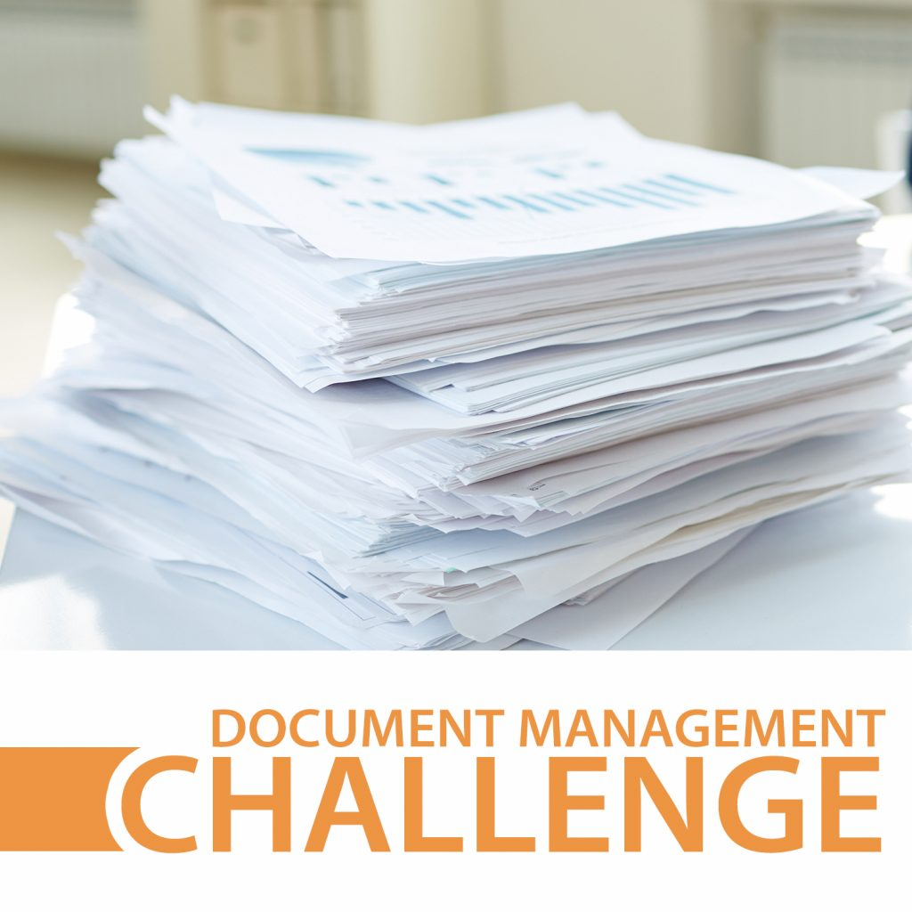 document management challenge case study icon