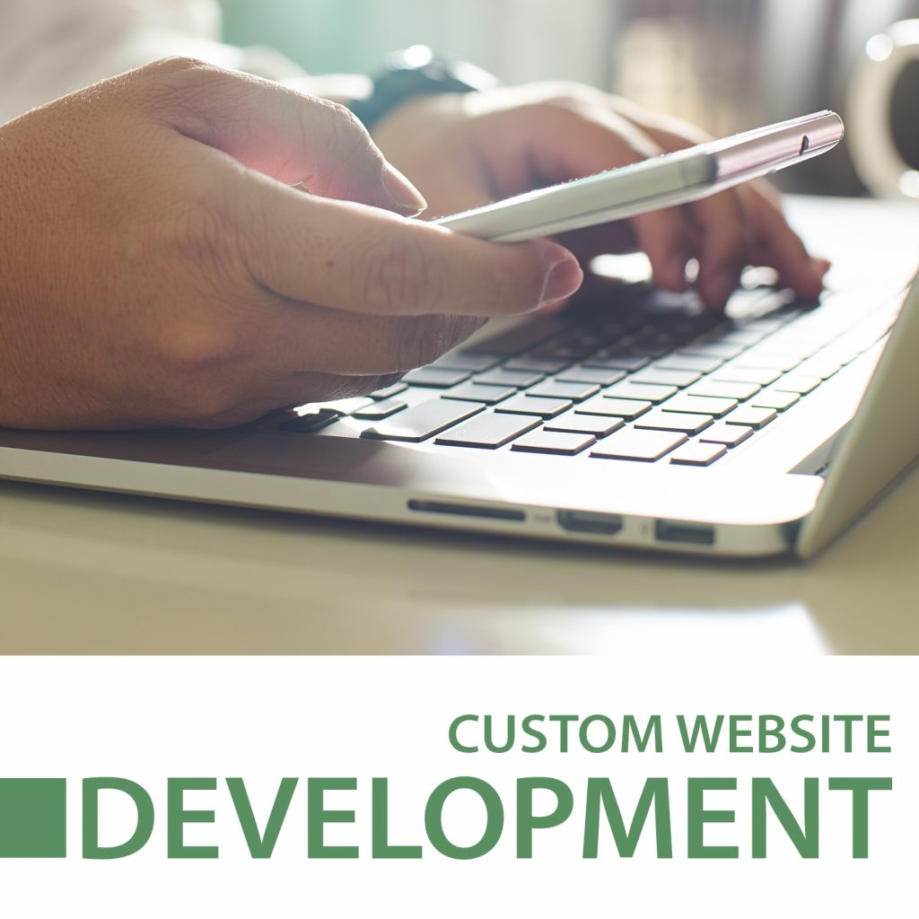 custom website development case study icon