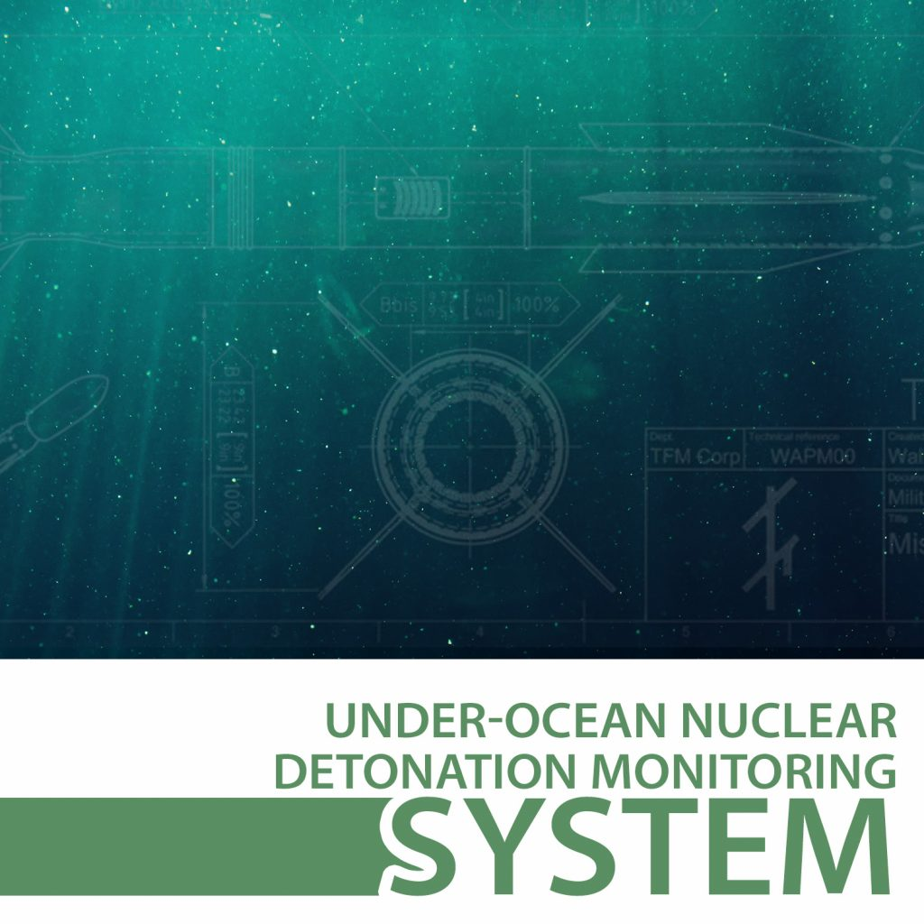 under-ocean nuclear detonation monitoring system